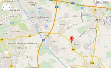 Sie finden unser Restaurant in 31319 Sehnde-Ilten, Sehnder Str. 21